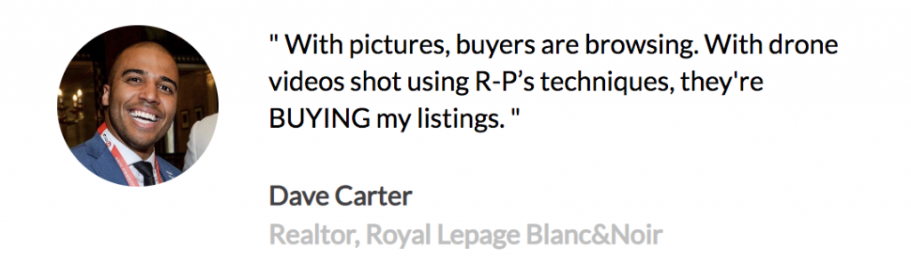 An example of a testimonial for Real Estate video